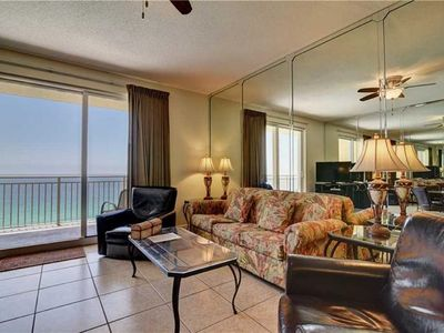Photo for Sterling Reef Beachfront! 2BD-15th Floor. Panoramic Beach View