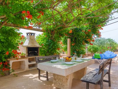 Photo for CAS GENERAL - Chalet with terrace in Porto Petro.