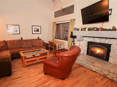 Photo for Mammoth Ski and Racquet Club #80, 2 Bedroom + Loft, 2 1/2 Bathrooms, Near Ski Back Trail