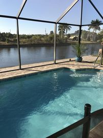 """Beautiful """"Brand New Custom Home"""" on waterway """"Monthly Rates Available"""""""
