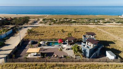 Photo for Amazing Villa just Steps to the Beach with Ocean Views, & salt water pool