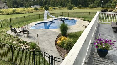 Photo for Ithaca, Ellis Hollow Retreat with heated Pool