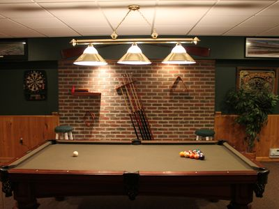 Mt Retreat at Big Boulder with amazing bar and game room