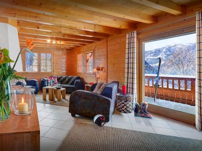 Photo for 4* Enjoy peace and great skiing at this stylish Alpine chalet - OVO Network