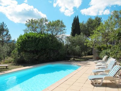 Photo for Vacation home Ferienhaus mit Pool (ROB100) in Rocbaron - 7 persons, 4 bedrooms