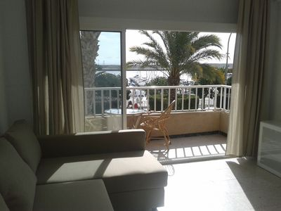 Photo for On promenade, sea and harbour views, within walking distance to beach and amenit