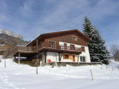 Photo for CHALET FAMILY COMFORTABLE, NATURAL PARK OF CHARTREUSE, CALM AND NATURE