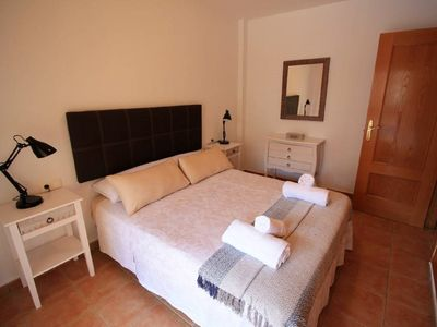 Photo for Sunny 1 bedroom apartment in a nice urbanization with pool.