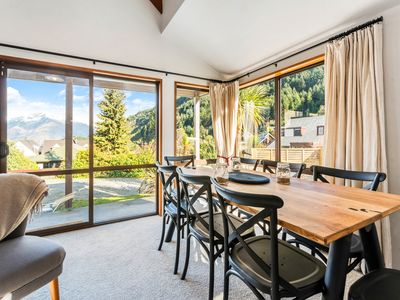 Photo for Modern alpine charm | Beautiful mountain outlook | Flooded with light