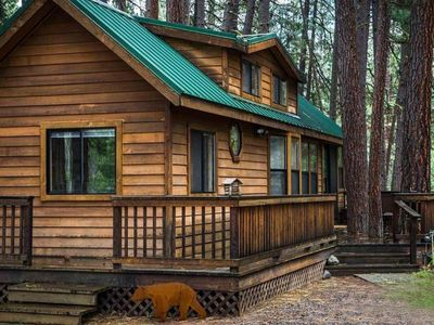 Photo for Fir Cabin Meadow view
