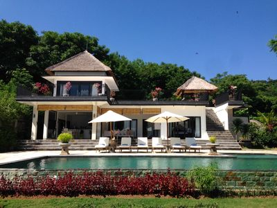 Photo for Spacious Luxurious Villa With Amazing Views on the Hills and the Sea