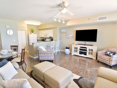 Photo for NEW! PRIME UNIT WITH BEACH SERVICE INCLUDED! DIRECT GULF FACING, LOWER FLOOR!!
