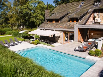 Photo for Attractive Holiday Home in Spa with Swimming Pool