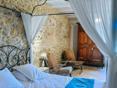 Photo for A bastide in Provence at the foot of one of the most beautiful villages in France