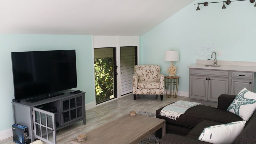 3 bed, 2 bath newly renovated home with bali hai mountain views and hot tub.