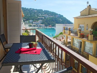 Photo for ANNA II-apartment with sea views-Llafranc-Costa Brava