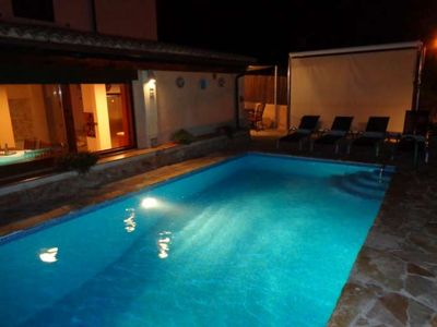 Photo for House with private pool for 6 people 200 m from the beach in Malpas-Bonaire. (Alcudia). BBQ. Satellite TV -74803- - Free Wifi