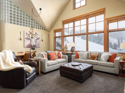 Photo for PENTHOUSE At The Base | Ski In / Ski Out | 3BD | Room To Spread Out | Gondola Views