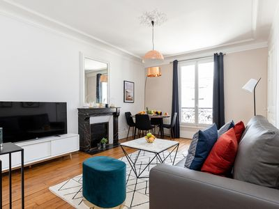 Photo for In the Heart of the Quartier Latin by Pantheon & La Sorbonne - 1BR