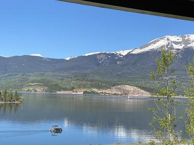 Photo for Lake Dillon + Mountain views, close to all the ski resorts and shopping!