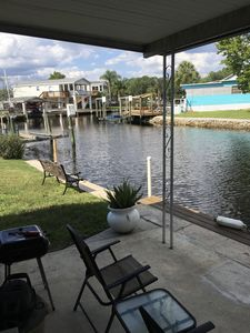 Park your boat outside the living room in our deep water canal.