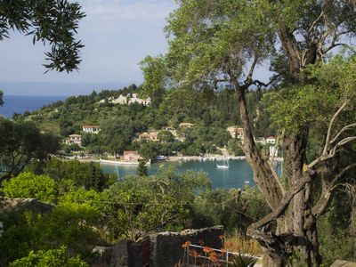 Photo for Stone Villa with Pool above Lakka Bay - a 5 minute walk to Lakka waterfront.