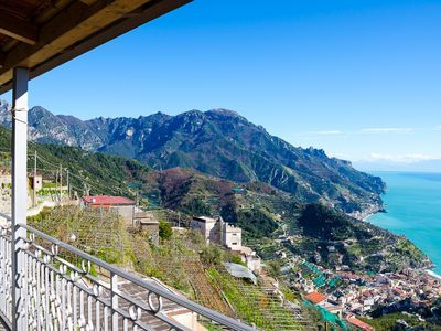Photo for vacation holiday apartment rental italy, amalfi coast, ravello, view, short term long term apartment to rent to let rave