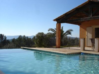 Photo for Amazing french Villa with view, pool, cosy and happy people