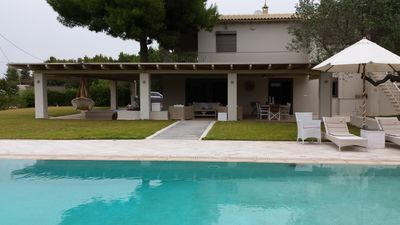 Photo for Big house 110 m2 with beautiful private pool and private garden