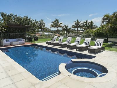 Photo for GOLD COAST HOLIDAY HOUSES  -THE PARK HOUSE- **POOL & SPA HEATED FOR WINTER**