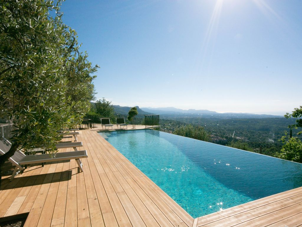 luxury retreat between nice & cannes, breathtaking sea view
