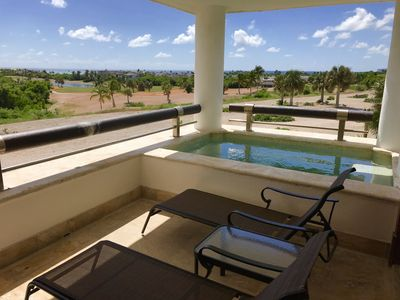 Photo for LUXURY APARTMENT CAP CANA WITH SPA, POOL AND GOLF