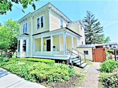 Photo for Gorgeous home in the heart of town - walk to restaurants, events, track & more!