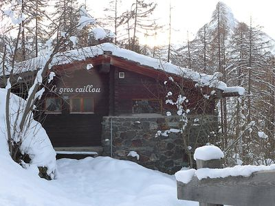 Photo for Vacation home Le Gros Caillou in Zermatt - 7 persons, 3 bedrooms