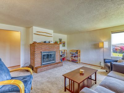 Photo for Mid-century house w/bay view, entertainment & large yard