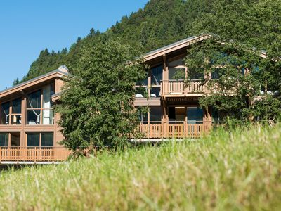 Photo for Nice chalet with fireplace in Megève, 1,5 km. from ski slope
