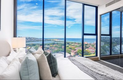Photo for Luxury Boutique Beachside 2 Bed, 2 Bath Apartment with VIEWS! metres from beach.
