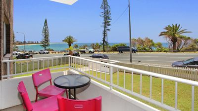 Photo for Bilgola 1 - Two Bedroom unit with Wifi and Aircon opposite Alexandra Headlands Beach