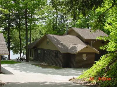 Photo for GORGEOUS WATERFRONT HOME TRAVERSE CITY Central A/C