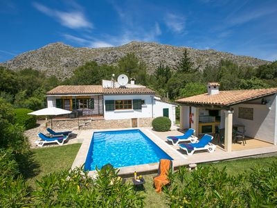 Photo for 2 bedroom Villa, sleeps 4 in Pollença with Pool, Air Con and WiFi