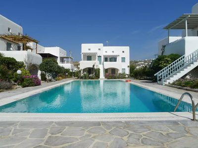 Photo for Mykonian Aroma House,3 min walk from Ornos beach