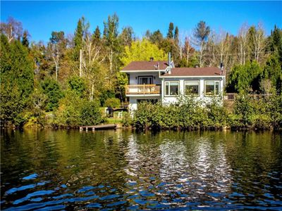 Photo for Cottage QC: Lake Front/20 Min from Mauricie National Par and Ski Station of Vallee du Parc