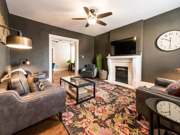 Elegant Home Steps away from Tower Grove Park and Botanical Gardens