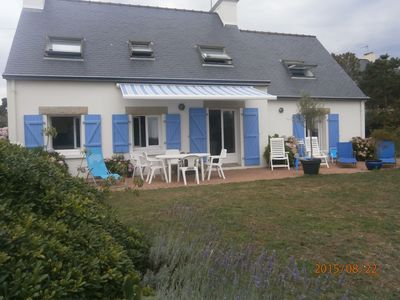 Photo for HOUSE TO FACE THE SEA IN THE PENINSULA CABELLOU
