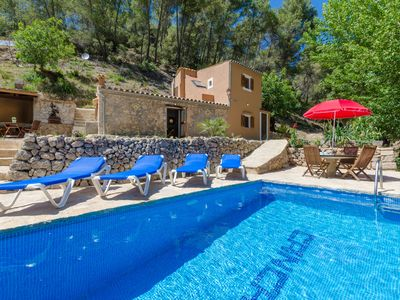 Photo for YourHouse Can Capet - house with pool for 4 guests in the Tramuntana