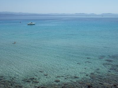 Photo for SUMMER SPECIAL OFFER Panoramic Two-room apartment on the sea - south Sardinia - 16D
