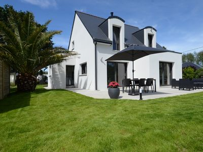 Photo for New house 4 * 600 m from the sea in Trégastel (Côte de Granit Rose)