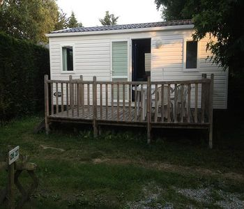 Photo for Camping Le Moulin des Oies *** - Mobile Home Shadow 3 Rooms 5 People