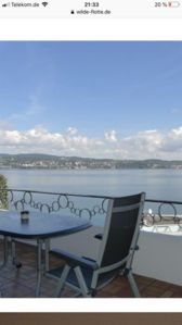 Photo for Apartment with spectacular balcony above the Bodensee