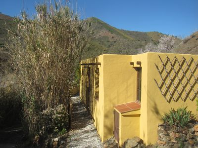 Photo for Tucked away in the mountains of  close to local beaches...